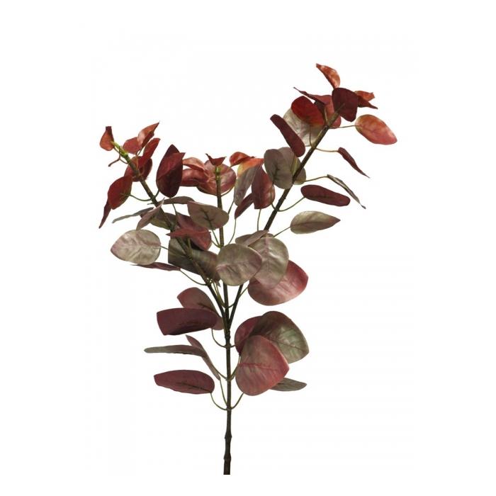 <h4>SILK FLOWERS - COTINUS CHANTI SPRAY LARGE BURGUNDY 75CM</h4>