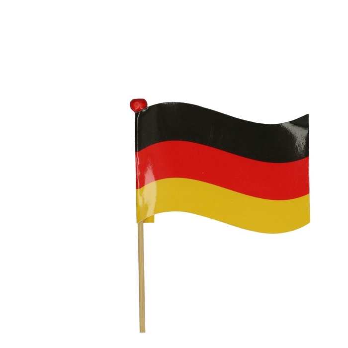 <h4>Bijsteker 50cm Vlag Duitsland 5*7cm</h4>