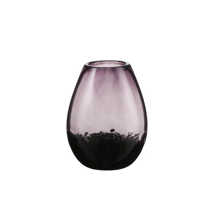 <h4>Glass colour Loretta vase d15*20cm</h4>