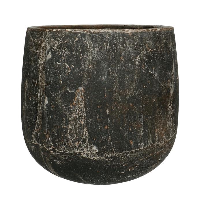 <h4>Ceramics Amber pot d22*21cm</h4>