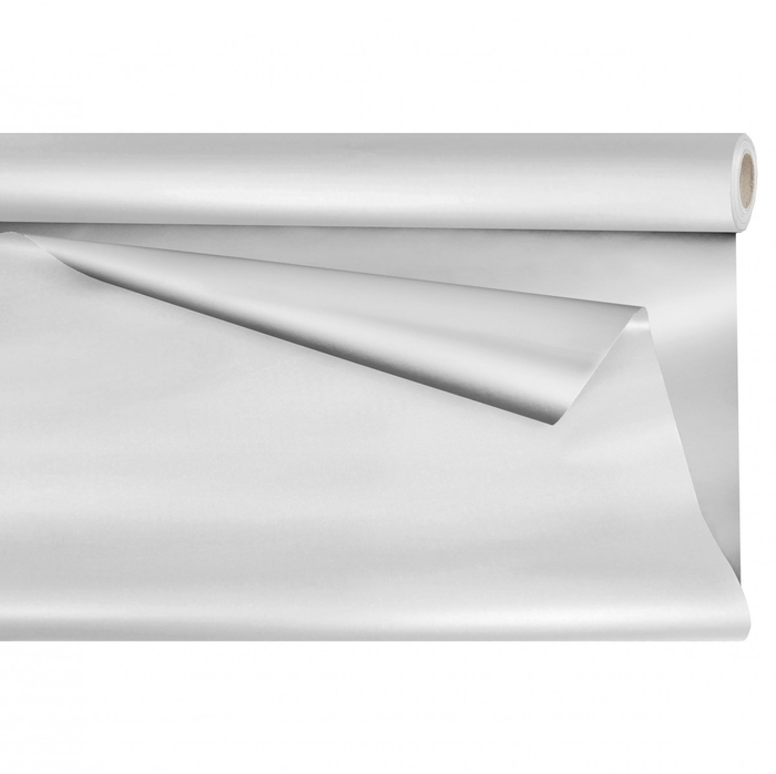 <h4>Cellophane Roll  80cm  25m Opaline Metaal</h4>