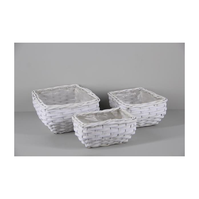 <h4>Basket Willow S/3 34x26cm</h4>