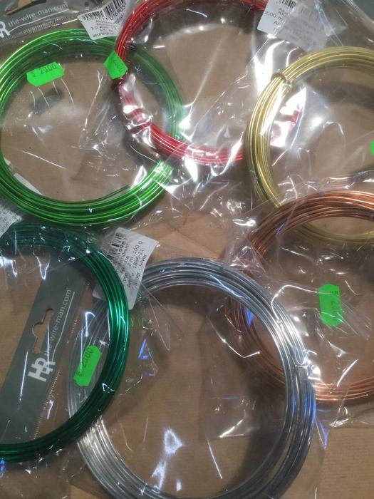 <h4>Aluminiums tråd forskellige farver</h4>