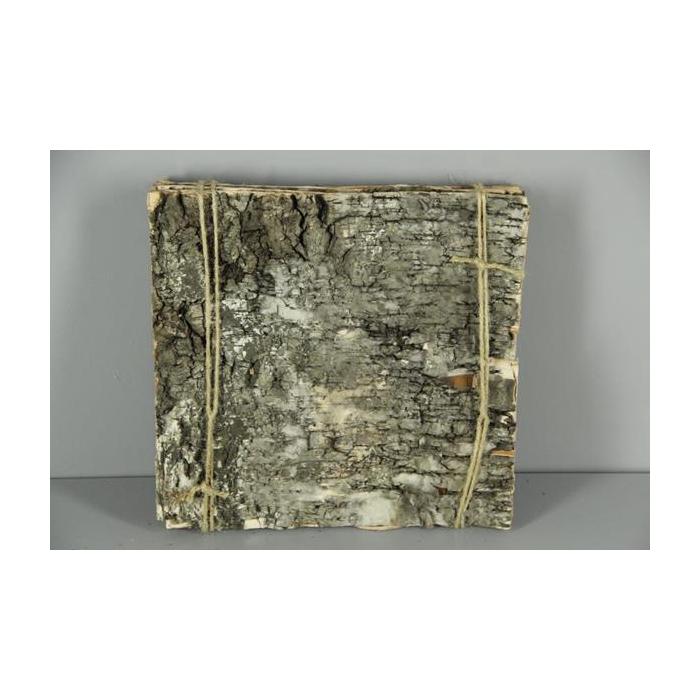 <h4>Birch Bark Pack 30x30cm(6p)nat</h4>