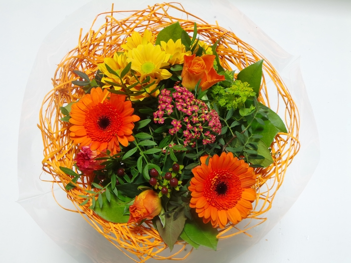 Bouquet Sisal Medium Orange