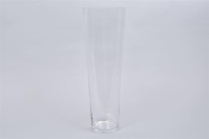 <h4>Glas Vaas Konisch Cc 17x50cm</h4>