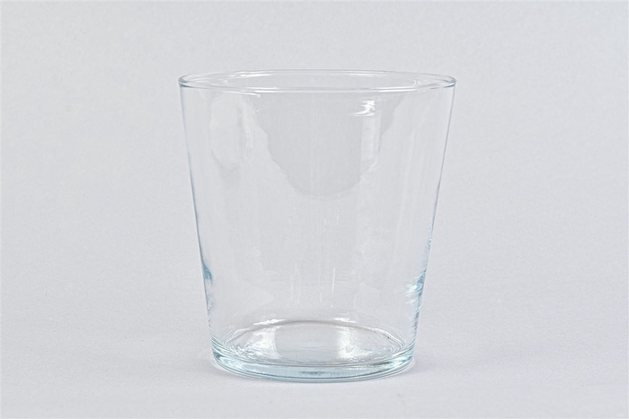 <h4>Glas Vaas Konisch 16x16cm</h4>