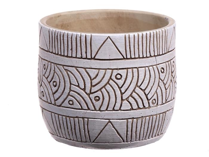 <h4>DF560374422 - Pot Kailua d9.8xh8.5 sand</h4>