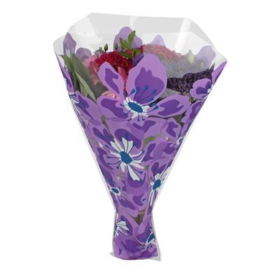 <h4>Housses 52x42x12cm OPP40 Floralia lilas</h4>