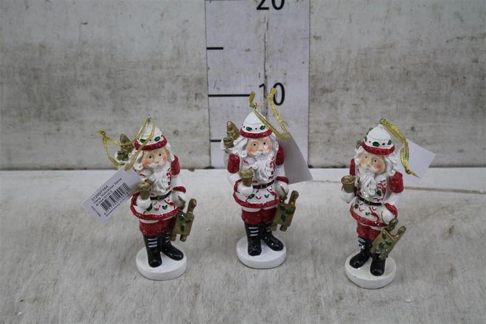 <h4>7164 Hang. Nutcracker Santa L6.0w4.5h16.</h4>