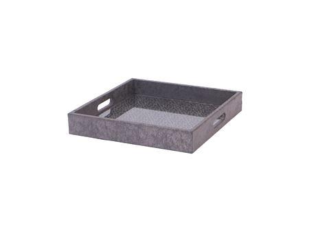 <h4>Tray Odessa square silver</h4>