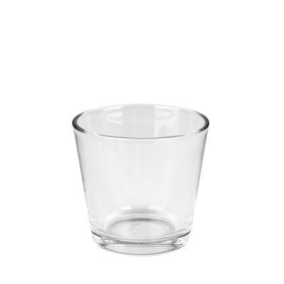 <h4>Verre Waxine transparent Denver Ø7,5cm</h4>