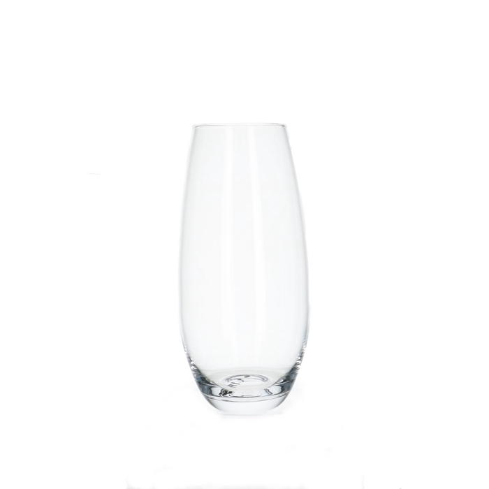 <h4>Glass Belly vase d8/11*25cm</h4>