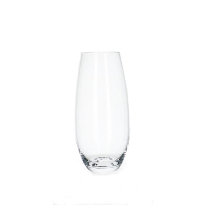 <h4>Glass Belly vase d8/11*25cm</h4>