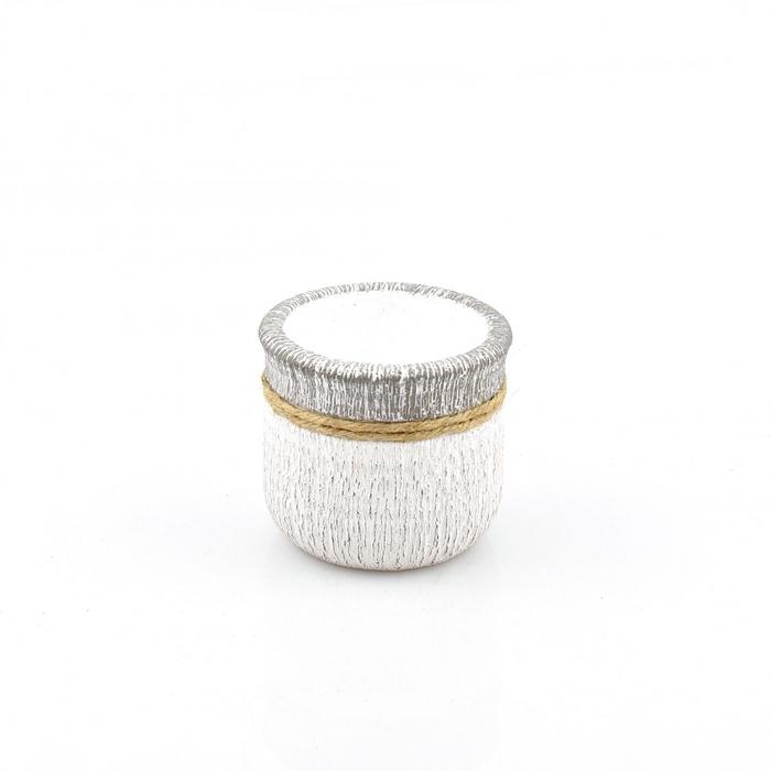<h4>Keramiek Cement+touw pot d08.5*7.5cm</h4>