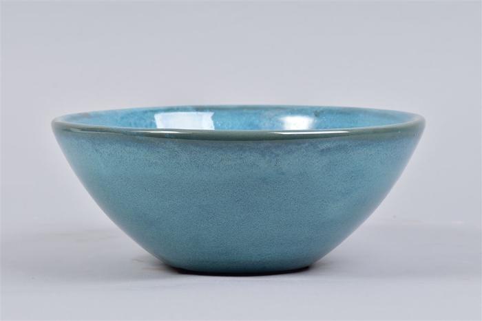 <h4>Ebbi Blauw Schaal Glaze 25x10cm</h4>