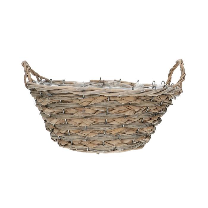 <h4>Baskets Dark round d30*14cm + ears</h4>