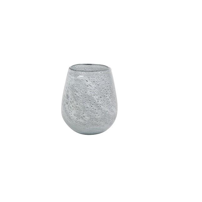 <h4>Glass colour Liz ball vase d10*11cm</h4>