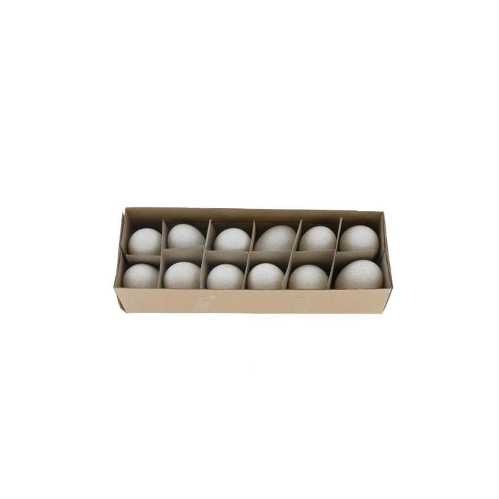 <h4>Egg Turkey White Box (12pcs)</h4>
