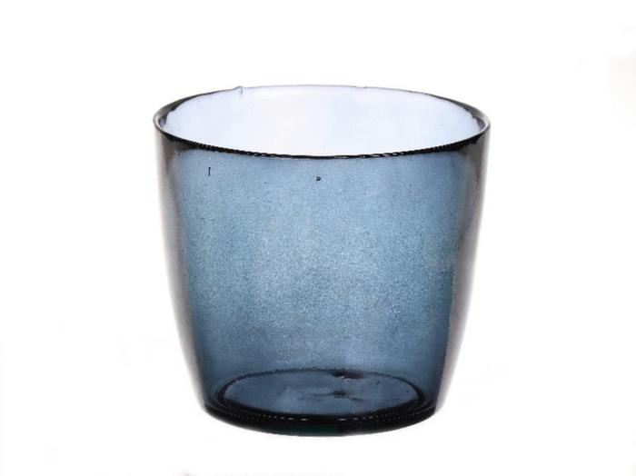 <h4>DF885073900 - Vase Kayana d14.5xh13 blue</h4>