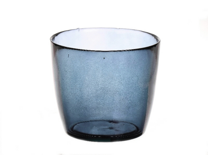 <h4>DF885073900 - Vase Kayana d14.5xh13 blue</h4>