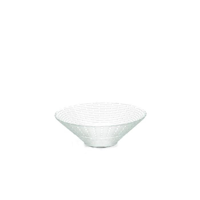 <h4>Glass Bowl ribbed d20*6m</h4>