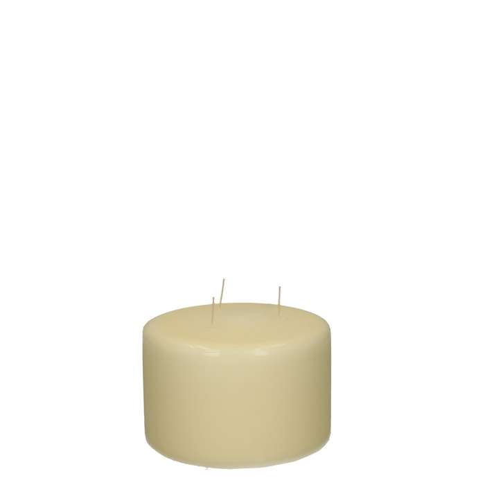 <h4>Candle Cylinder+3wich d15*10cm</h4>