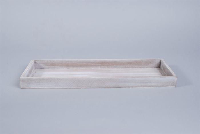 <h4>Dienblad Antiek Grijs 14x40x3cm</h4>