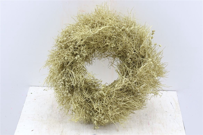<h4>Krans Iron Grass Gold Glitter</h4>