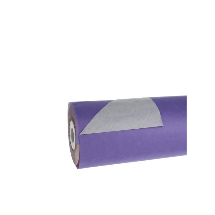 <h4>Papier Rol 75cm 40g 10kg Wit/Lila</h4>