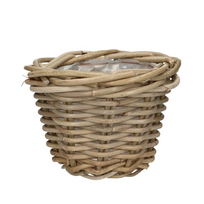 <h4>Baskets Rattan pot d18*14cm</h4>