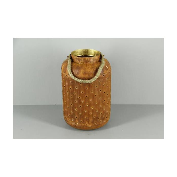 <h4>Lantern Mtl Round Rust/gold 38</h4>
