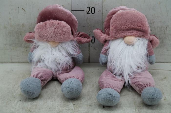 <h4>5004 Deco Sitting Gnome Bomber L20.0w13.</h4>