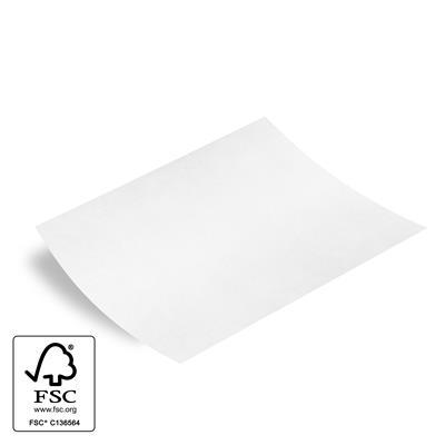 <h4>Papier vel: 62x85cm wit kraft  prominent-/- hoeken</h4>