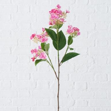 <h4>Zijde, Hydrangea, H 75 cm, 1 ass, Light rose</h4>