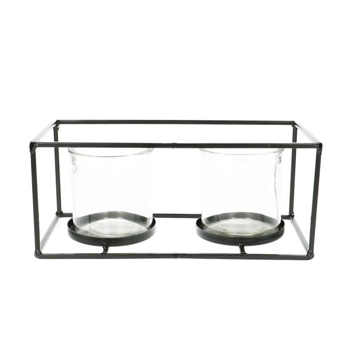 <h4>Glas Frame+2pot d08*8cm</h4>