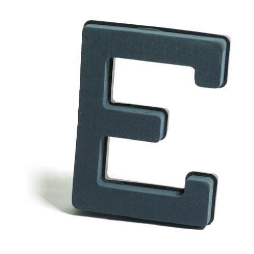 <h4>Steekschuim Basic Letter E 29cm</h4>