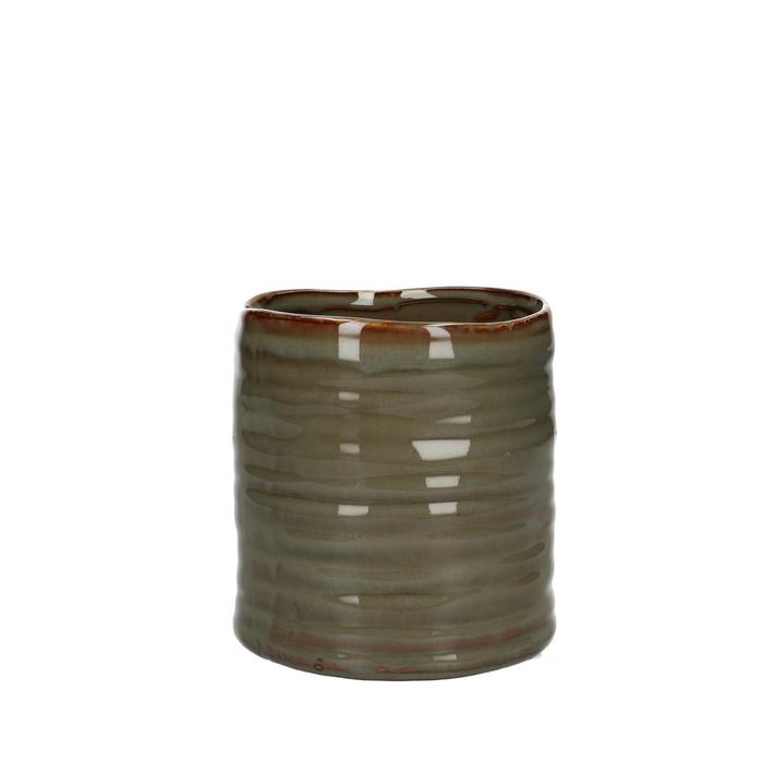 <h4>Ceramics Bronto pot d11*11.5cm</h4>
