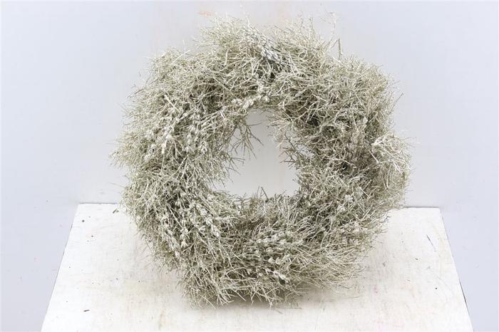 <h4>Krans Iron Grass Platina Glitter</h4>