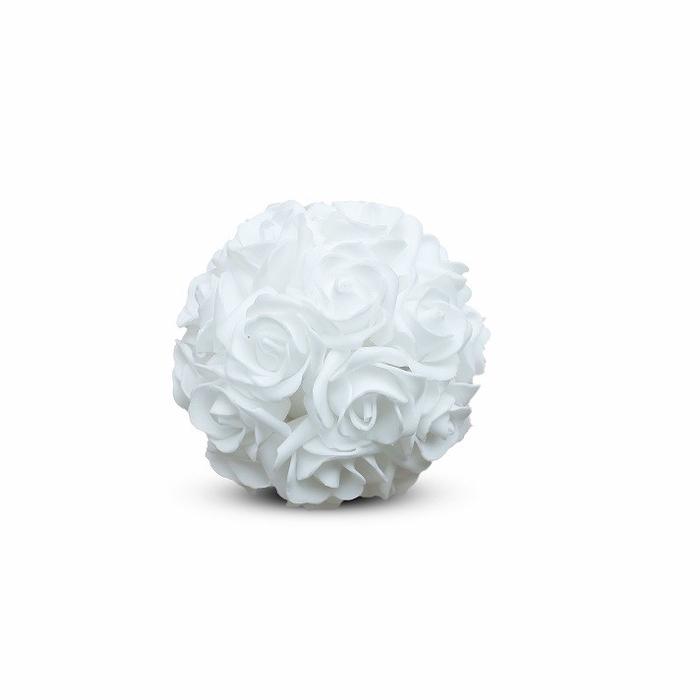 <h4>Bruiloft Roos bal foam d10cm</h4>