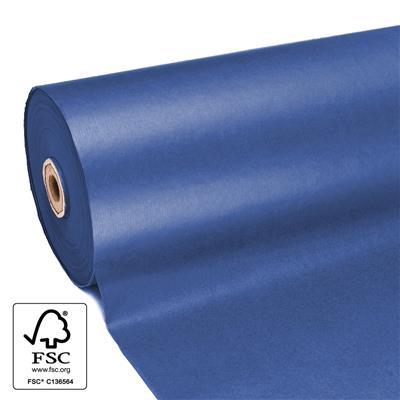 <h4>Papier 60cm kraft 50gr  marron Bleu fond 400m.</h4>