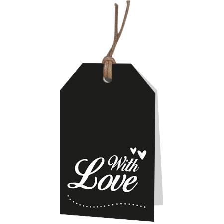 <h4>Labels Displ.Card GB Love 5*8cm x12</h4>