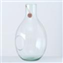 <h4>Vase Eco-Glas, H 37 cm, Klarglas, Transparent glass clear clear</h4>