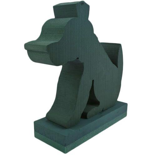 <h4>Steekschuim Basic 3D Hond 38*38cm</h4>