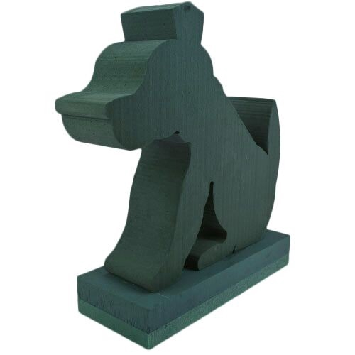 <h4>Foam Basic 3D Dog 38*38cm</h4>