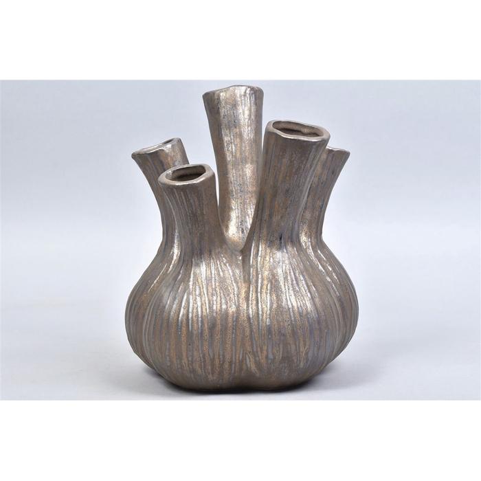 <h4>Aglio Vaas Bronze 22x28cm</h4>