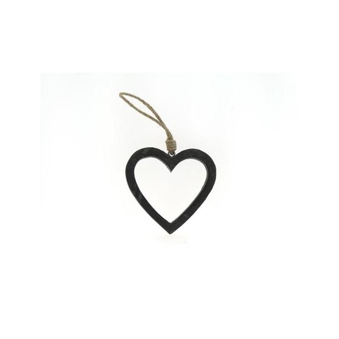 <h4>Heart Wood Open 15cm Cement</h4>
