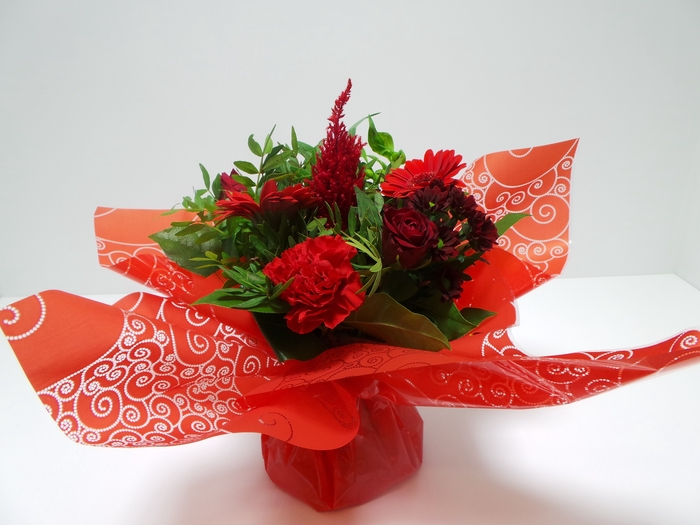 <h4>Bouquet Aqua Small Red</h4>