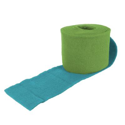 <h4>Heavy Wool 2-colour150 mm x 5 MTR. turquoise/green</h4>