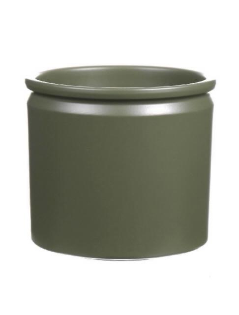 <h4>DF885092747 - Pot Lucca d14xh12.5 green matt</h4>